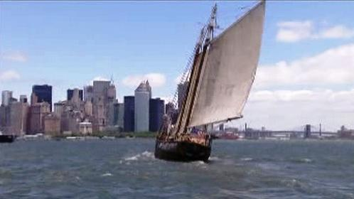 Jachta Anne se vrací do New Yorku