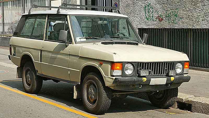 První generace Range Roveru