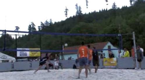 Nové hřiště na plážový volejbal