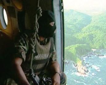 Člen jihoamerické protidrogové jednotky