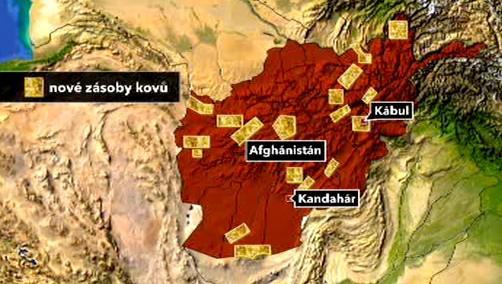 Afghánská naleziště