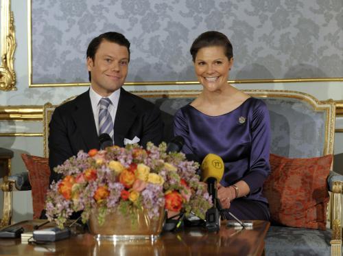 Princezna Victoria se snoubencem