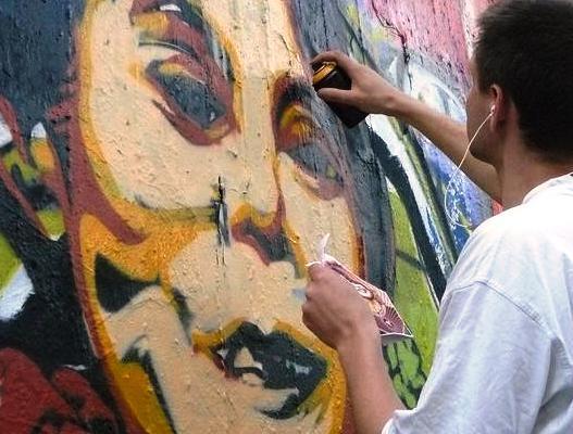 Graffiti Su Ťij