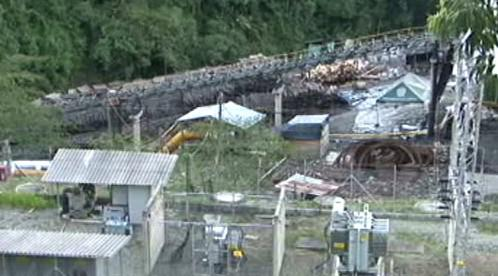 Důl San Fernando v Kolumbii