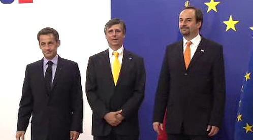 Sarkozy, Fischer, Kohout