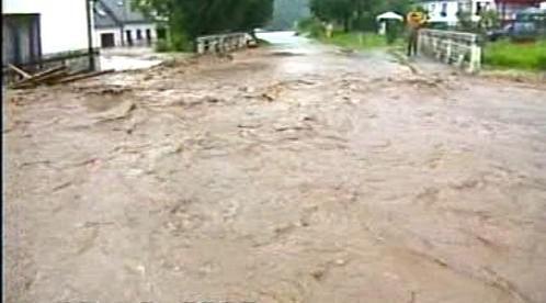 Velká voda ničí obec Záblatí