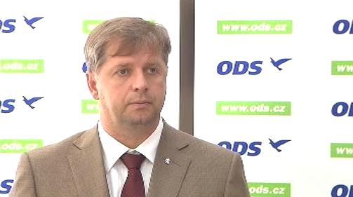 Místopředseda ODS Petr Bendl