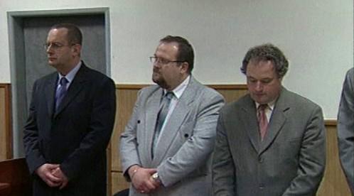 Zbyněk Veselský před soudem