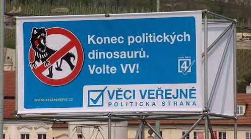 Předvolební kampaň VV