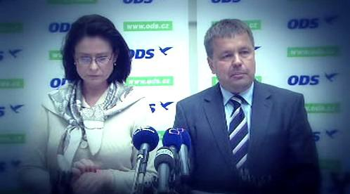 Petr Tluchoř a Miroslava Němcová