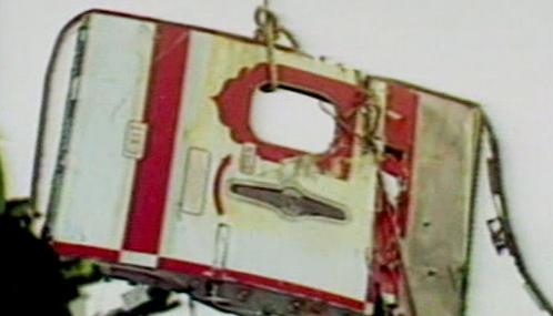 Trosky letadla společnosti Air India