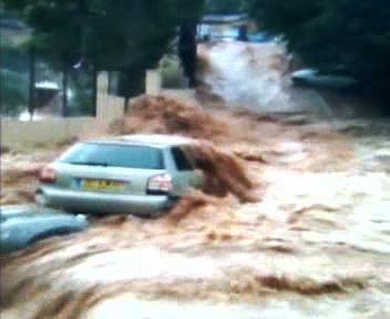 Záplavy v jižní Francii
