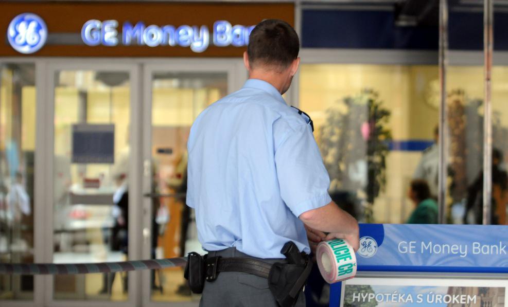 Policie šetří bankovní loupež