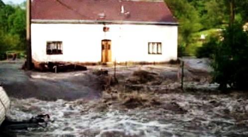 Záplavy na Děčínsku