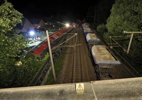 Srážka dvou vlaků