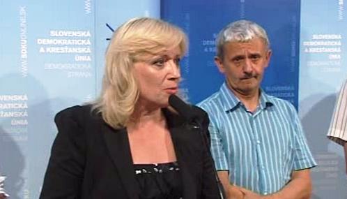 Iveta Radičová a Mikuláš Dzurinda