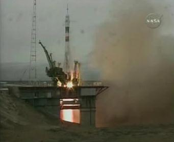 Sojuz startuje k ISS