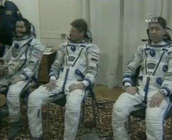 Astronauti míří k ISS