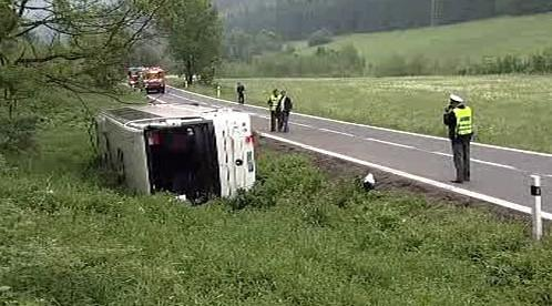 Havárie autobusu