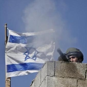 Izraelský voják v Gaze