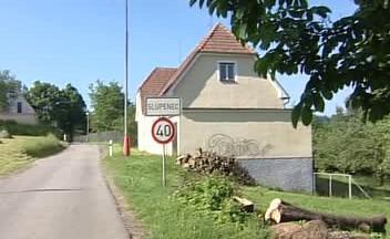 Českokrumlovská osada Slupenec