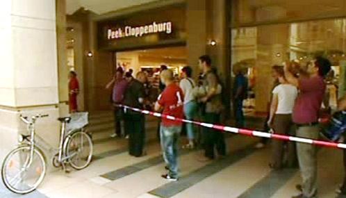 Ozbrojený muž drží rukojmí v centru Lipska