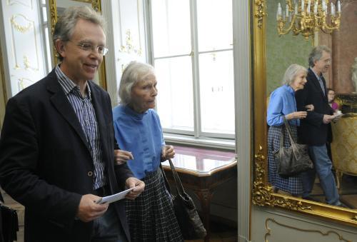 John Mucha a Geraldina Muchová