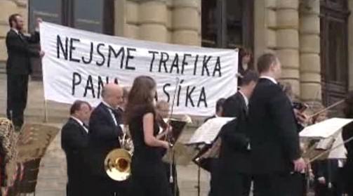 Česká filharmonie protestuje