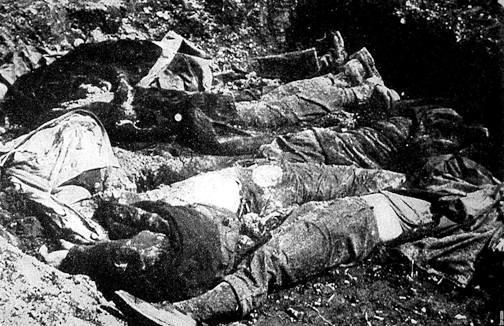Mrtví Němci v Postoloprtech