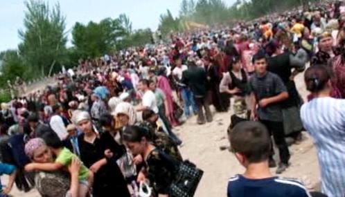 Uzbečtí uprchlíci z Kyrgyzstánu