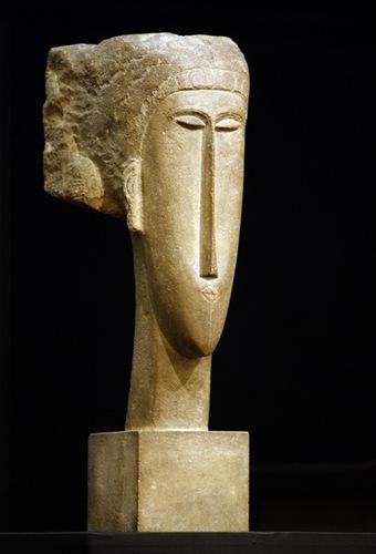 Amedeo Modigliani / Hlava ženy