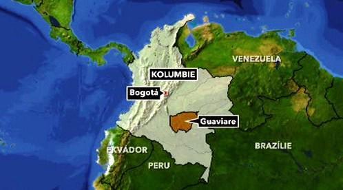 Kolumbijská provincie Guaviare