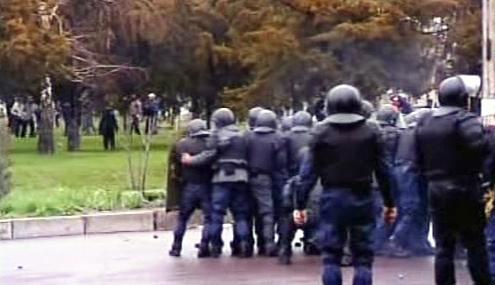 Kyrgyzská policie