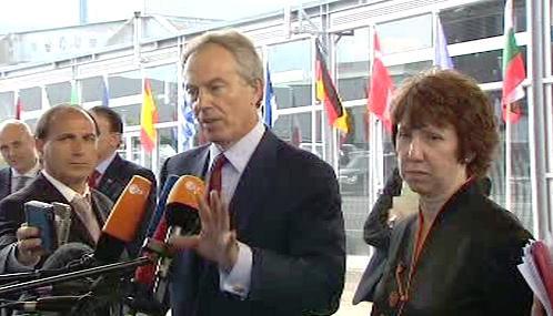 Tony Blair a Catherine Ashtonová