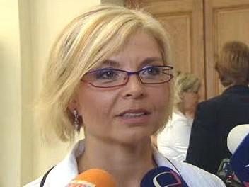 Ministryně spravedlnosti Daniela Kovářová