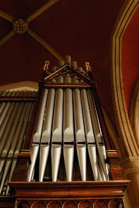 Varhany v kostele sv. Prokopa