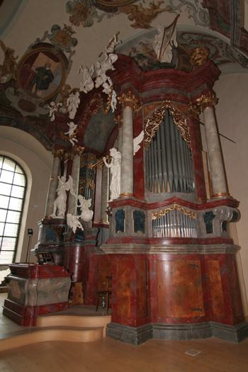 Varhany v bazilice sv.Markéty