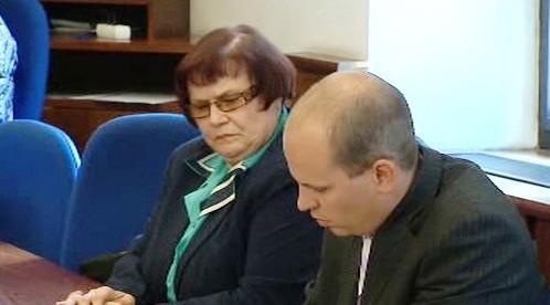 Marie Benešová s advokátem