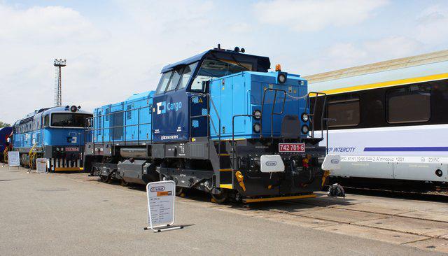 Zrekonstruovaná lokomotiva