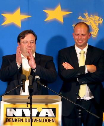 Vítězná strana N-VA