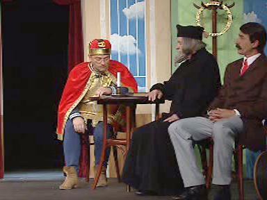 Nebeská komise v divadle Járy Cimrmana