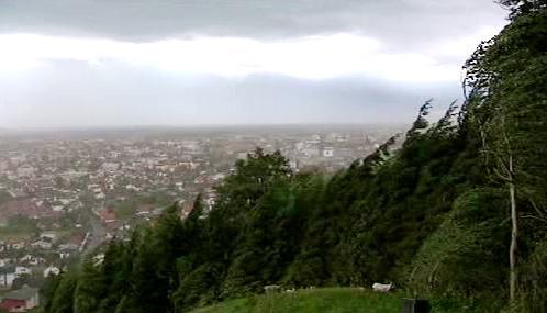 Jih a východ Česka zasáhly silné bouře