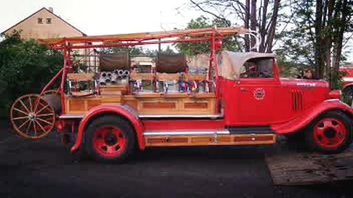 Historický požární vůz