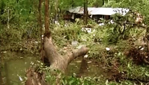 Následky záplav v Arkansasu