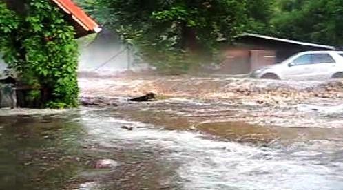 Blesková povodeň