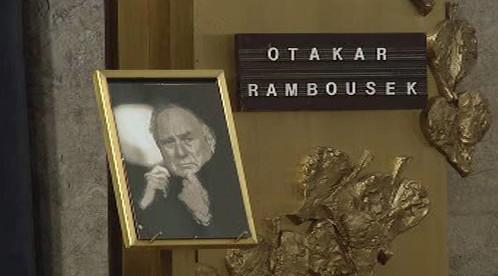 Rozloučení s Otakarem Rambouskem