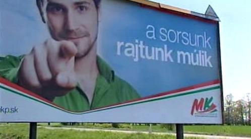 Billboard strany SMK