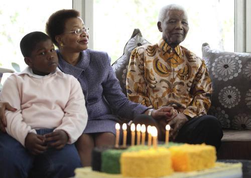 Nelson Mandela slaví 91. narozeniny