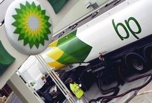 Čerpací stanice společnosti British Petroleum