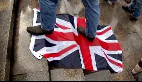 Protest proti British Petroleum